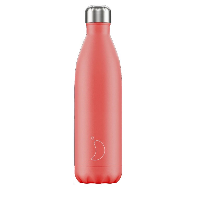Chilly's Bottle 750ml Pastel Corallo b750pacor
