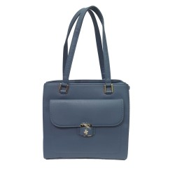 Borsa Donna Shopping Blu Polo Bh2110