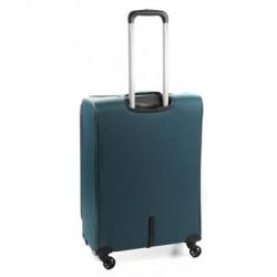 Roncato Trolley Medio Espandibile 4 Ruote Chiusura TSA Speed Blu 416122