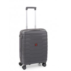 Roncato Trolley Cabina Ryan Air Spirit 4 Ruote Rigido Espandibile Grigio 413173