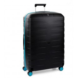 Roncato Trolley Medio Box Young 4 Ruote Rigido Nero Made in Italy