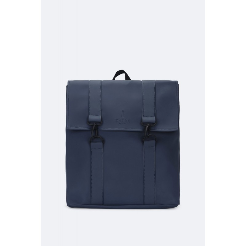 "Rains Zaino Blu 13"" Laptop Articolo MSN Bag"