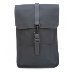 "Rains Zaino Backpack Nero 13"" Laptop Articolo"