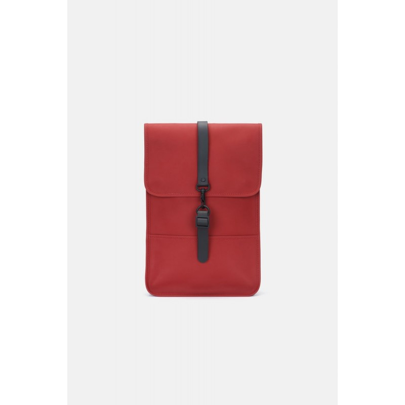 "Rains Zaino MiniBackpack Red 13"" Laptop Articolo"