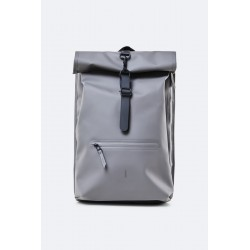 Rains Zaino Charcoal Rolltop Rucksack Notebook 15""