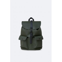 "Rains Zaino Camp Backpack Verde 15"" Laptop"