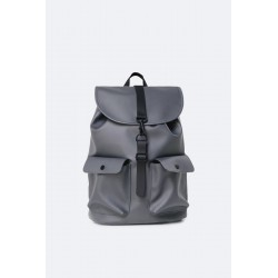 "Rains Zaino Camp Backpack Charcoal 15"" Laptop"