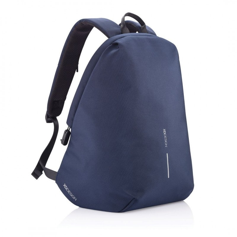 Bobby Soft Zaino Originale Espandibile Blu Zaino Antitaccheggio XD Design