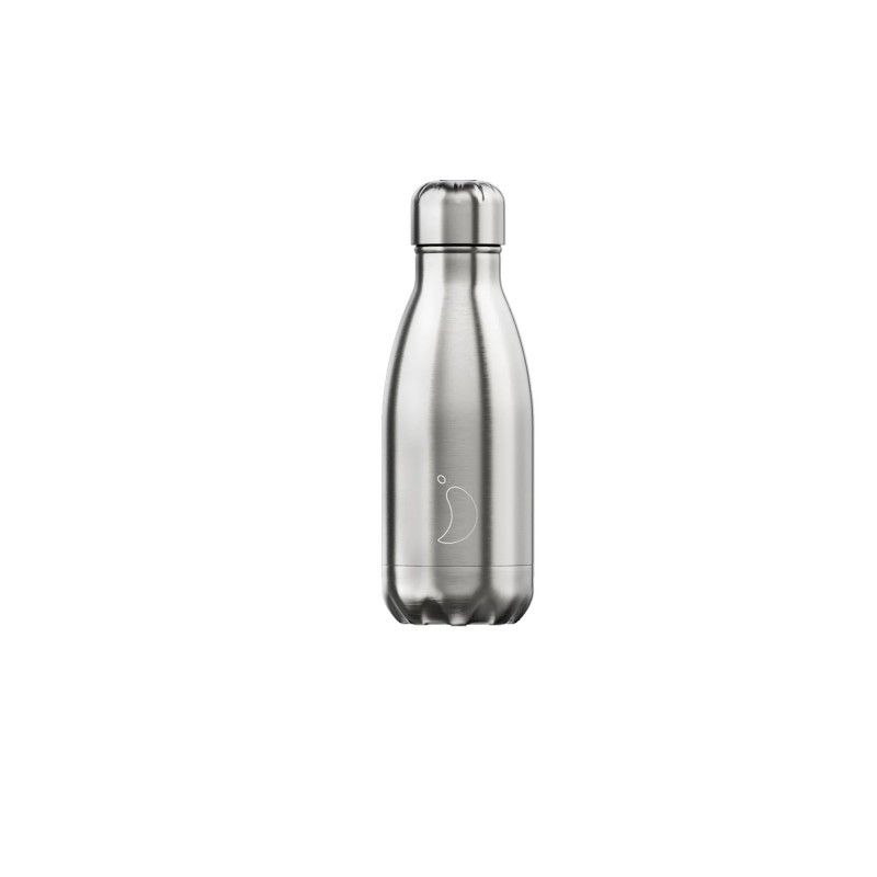 Chilly's Bottle Acciaio Stainless Steel Bottiglia Termica Acciaio