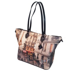 Ynot Shopping Grande Parigi yes397f1 Borsa ynot paris