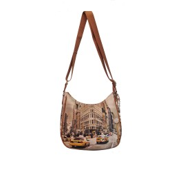 tracolla Ynot New York yes438f1 Borsa ynot
