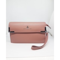 MiniBag 3 in 1 Atelier Du Sac PashBag Clutch Polsina Tracolla Colore Rosa