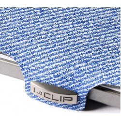 IClip Jeans Smart Wallet Mini Portafoglio Unisex Jeans Veggie Version