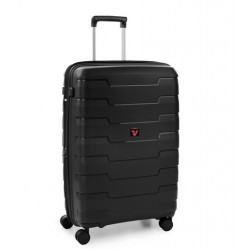 Roncato Trolley Medio Skyline 4 Ruote Rigido Espandibile Nero 418152