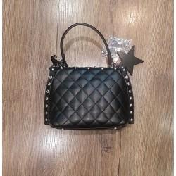 Pashbag Rebel Shelly Mini Bag Con Manico E Tracolla Nero Atelier du Sac Articolo 10583-REB-91M