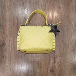 Rebel Mini Bag Con Manico E Tracolla Giallo Atelier du Sac Shelly 10585-REB-91M