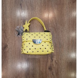 Rebel Mini Bag Con Manico E Tracolla Giallo Atelier du Sac Shelly 10585-REB-91M