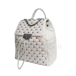 Zaino Donna Atelier du Sac Rebel Joe Bianco 10578 Pashbag