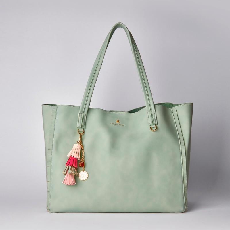 Atelier Du Sac Borsa Shopping 2in1 PashBag Verde Hey Girl Megan