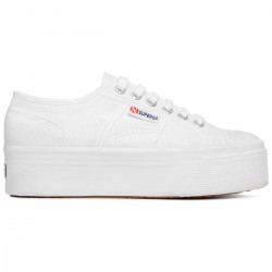 Superga Platform 2790 -COTW LINEA UP AND DOWN 	S9111LW  901 Bianco