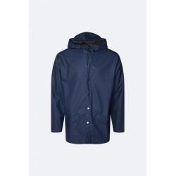 Rains Jacket Impermeabile Blu 1201