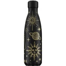 Chilly's Bottle Mystic Edition Black 500ml Borraccia Termica Acciaio