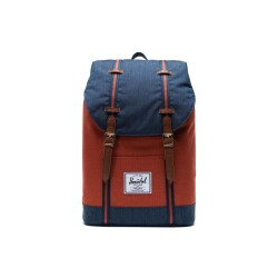 "Herschel Retreat Mid Zaino Indigo Denim 13"" Laptop Articolo 10329"