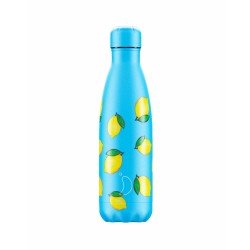 Chilly's Bottles 500ml Limone Icons lemon b500nilem