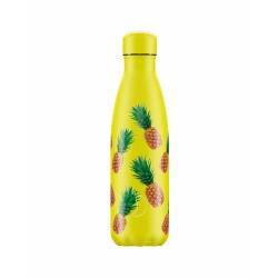 Chilly's Bottle 500ml Ananas Icons pineapple b500nipin