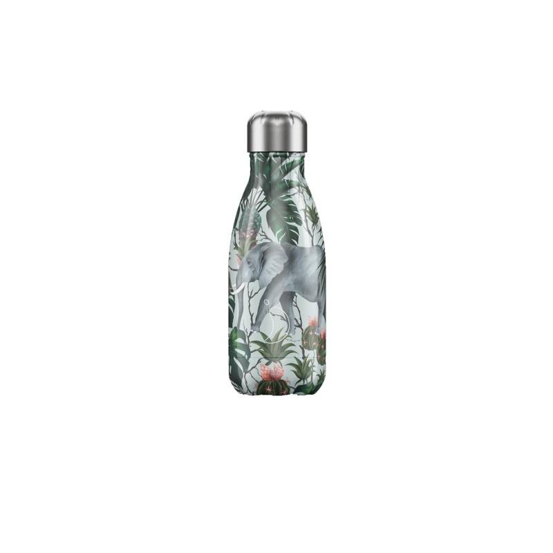 Chilly's Bottle 260ml Elefante Tropical Elephant b260trele