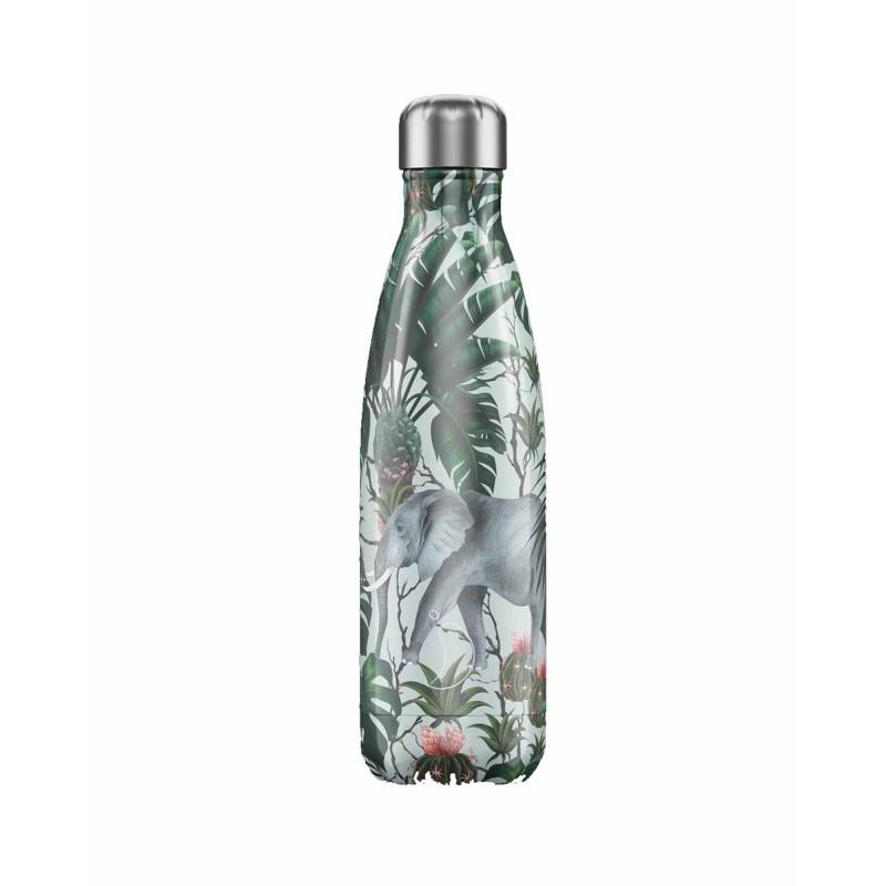 Chilly's Bottle 500ml Elefante Tropical Elephant b500trele