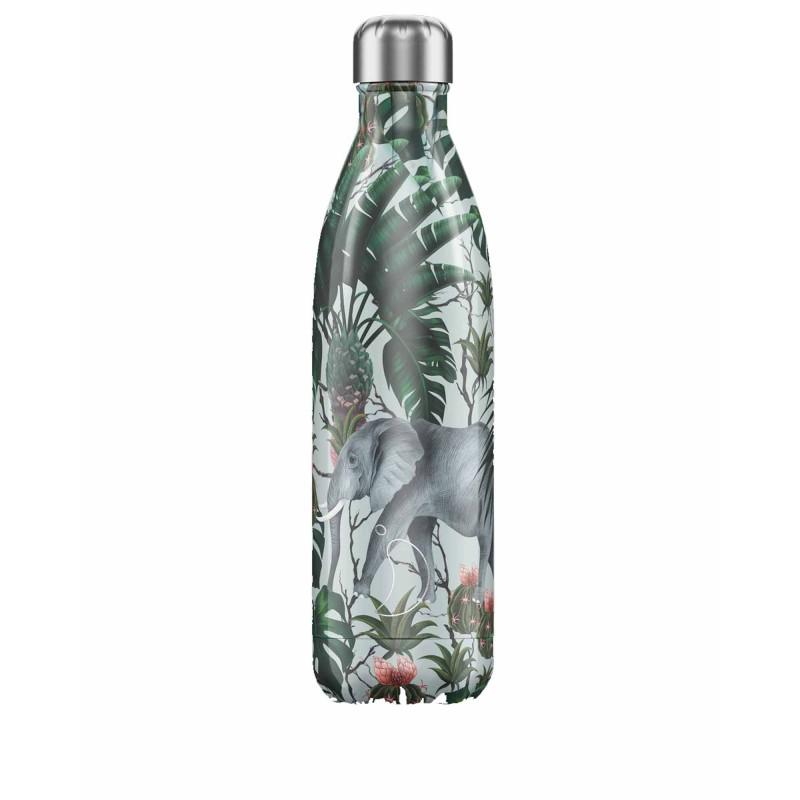 Chilly's Bottle 750ml Elefante Tropical Elephant b750trele