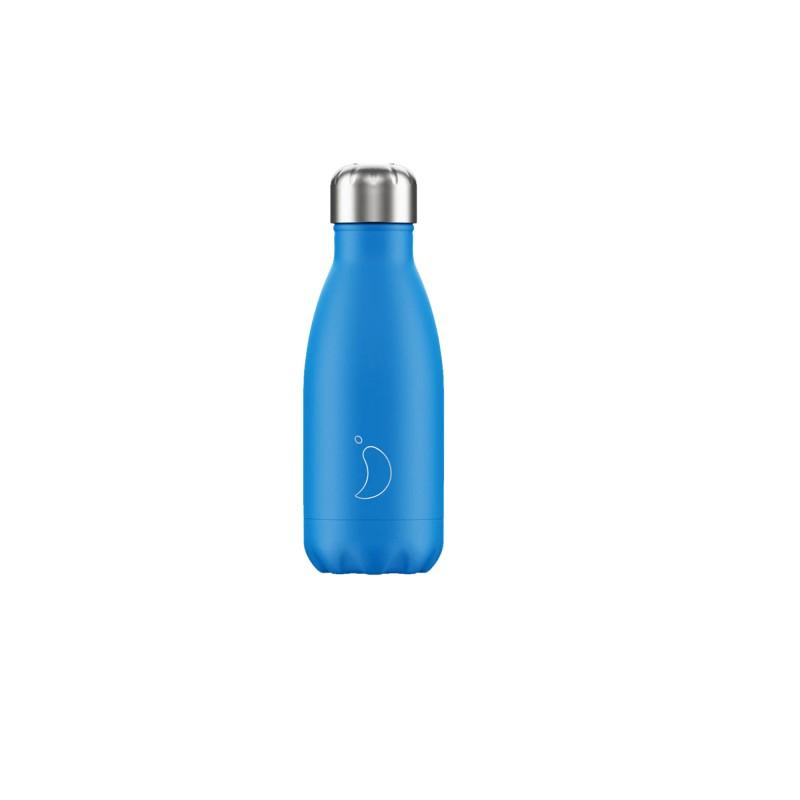 Chilly's Bottle 260ml Neon Blu b260neblu