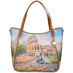 Shopping Ynot Roma yes447s0 Borsa ynot