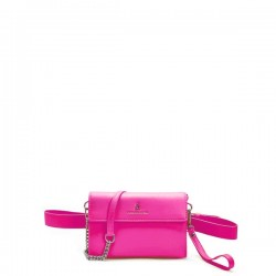 copy of MiniBag 4 in 1 Atelier Du Sac PashBag Clutch/Polsina/Tracolla/Marsupio Colore Rosa Fluo