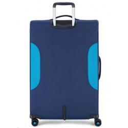 Roncato Trolley Grande Espandibile 4 Ruote Blu 414621