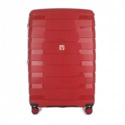 Roncato Trolley Medio Spirit 4 Ruote Rigido Espandibile Rosso 413172