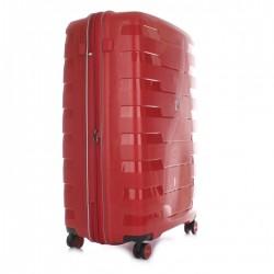 Roncato Trolley Cabina Ryan Air Spirit 4 Ruote Rigido Espandibile Rosso 413173