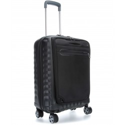 Roncato Double Premium Trolley Cabina Rigido e Zaino PC Tablet 5146 Nero