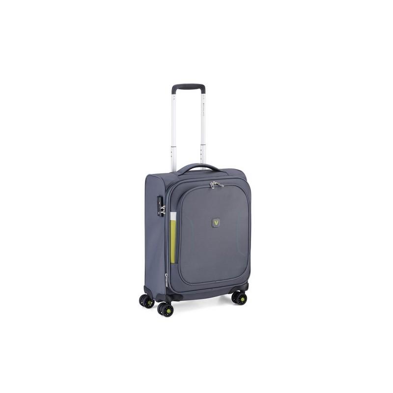 Roncato Trolley Cabina Ryanair Espandibile 4 Ruote  Grigio city break