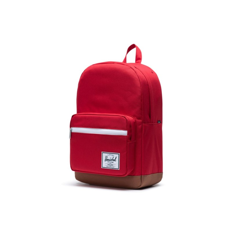 "Herschel Pop Quiz Zaino Red Saddle 15"" Laptop Articolo 10011"